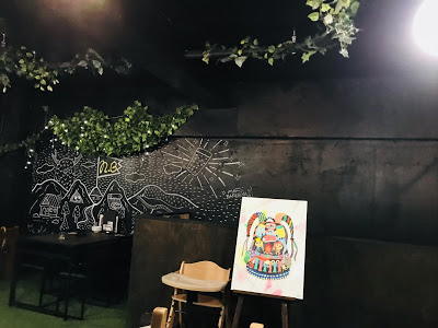 NAMACHAん Brewing 店内