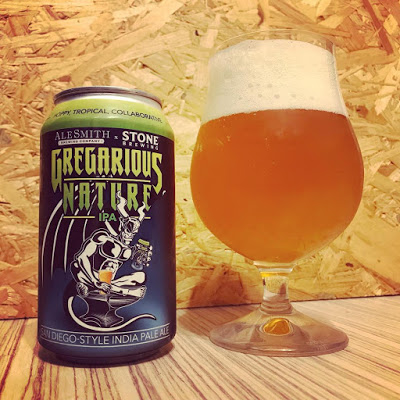 Gregarious Nature IPA [Ale Smith x Stone]